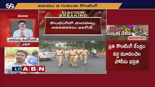 Huge Security Arrangements At Visakha Polling Centres | Elections 2019