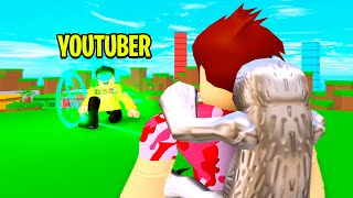 YOUTUBER Got Mad.. So We Had An ADMIN BATTLE! (Roblox)