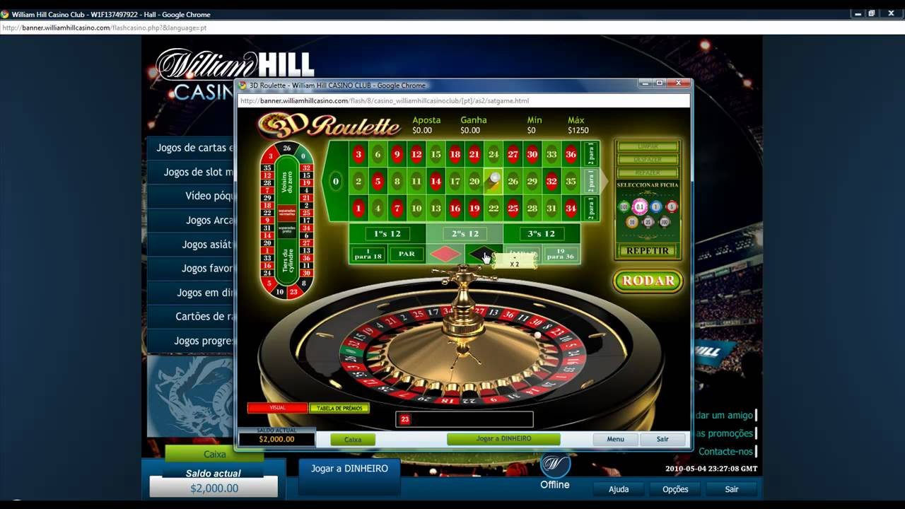 william hill casino hack