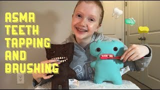 ASMR~ Teeth Tapping, Cleaning, & Brushing 🦷