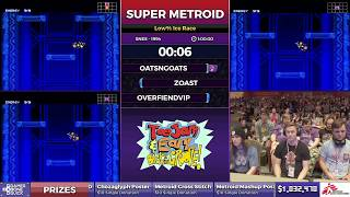 Super Metroid By Oatsngoats Zoast And Overfiendvip In 52 49  Sgdq2017  Part 124