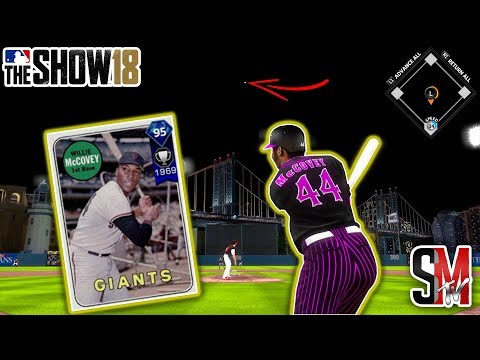 He Hit The Bridge! Willie McCovey Debut! MLB The Show 18 Gameplay