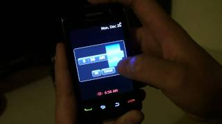 Hands on BlackBerry Storm2 Part 1