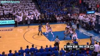 OKC Thunder 2014 Playoffs: First Round Highlights vs. Memphis Grizzlies
