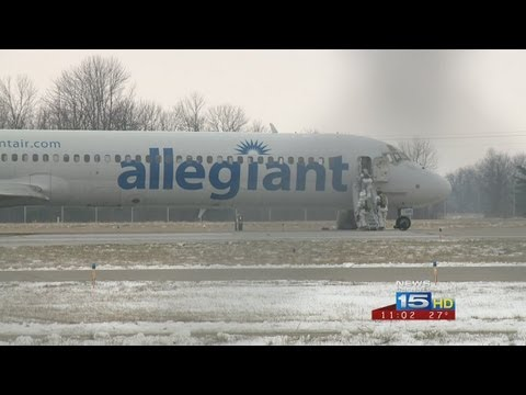 Allegiant flight makes emergency landing at Fort Wayne Int'l Airport