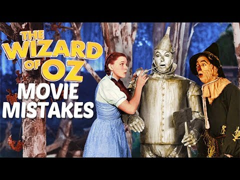 11 Movie Mistakes The Wizard of Oz Spoilers, Bloopers, Goofs and Fails
