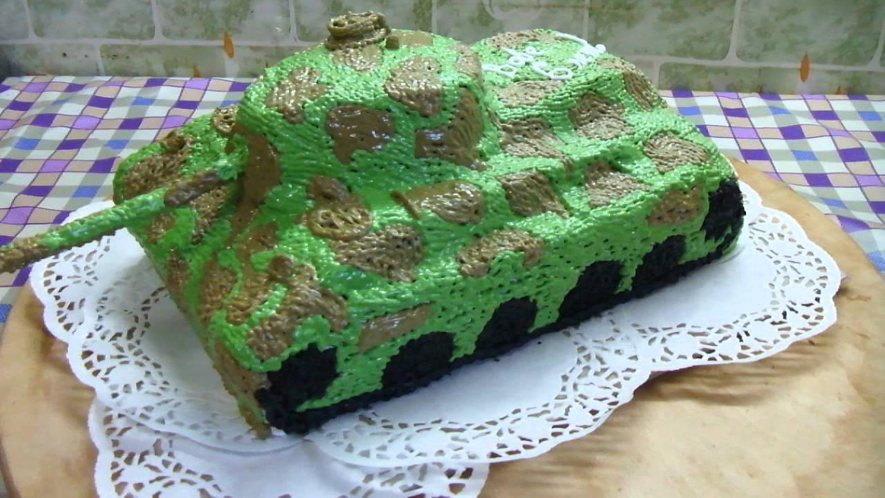 Танк торт своими руками