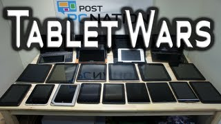 Tablet Wars 2012 - 30 Tablets In Under 20 minutes