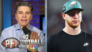 Carson Wentz rallies Eagles to comeback OT win vs. Giants | Pro Football Talk | NBC Sports