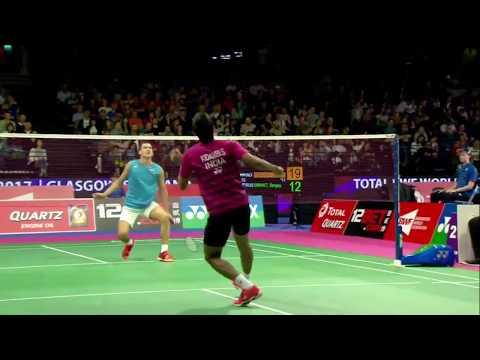 Total Bwf World Championships 2017 Badminton Day 1 M6 Ms