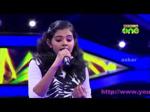 Pathinalam Ravu2 Krista Kala singing mappila song old hit mani...