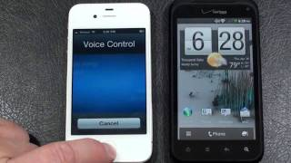 Apple iPhone 4 vs HTC Droid Incredible 2 Part 2 Verizon Face Off