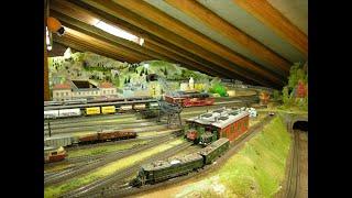 Switzerland SBB Modellbahnanlage, Gotthardbahn, Märklin, Roco, WinDigipet - 2013