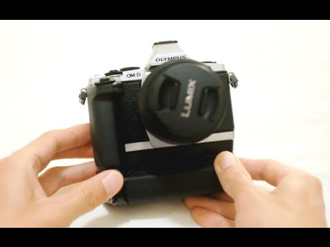 Olympus HLD-6 Grip for OM-D EM-5 Review