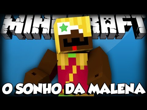 O Sonho Da Malena - Minecraft - Sky Wars video