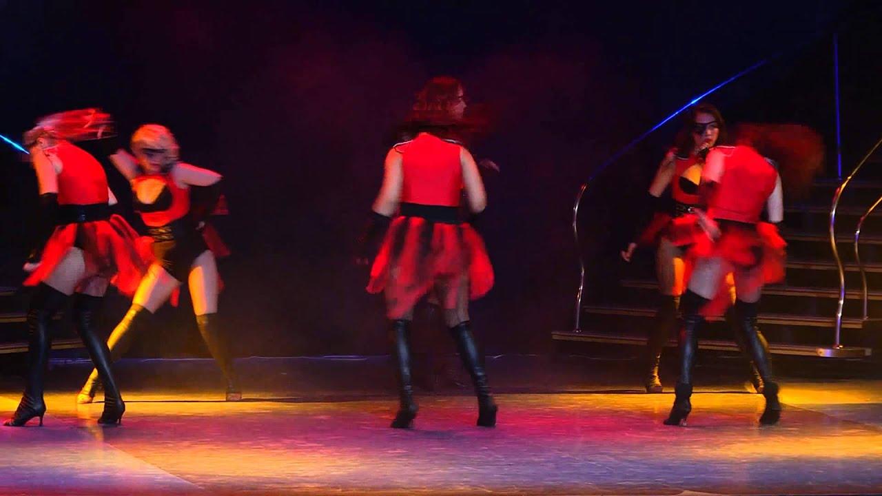 Летний отчетный концерт танцевальной школы DIVA в Гигант-холле 08.06.2014. Видео  Go-Go.