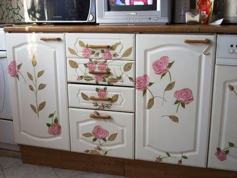 Как декорировать мебель своими руками – нанесение узоров: 8 способов отделки