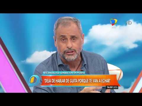 La advertencia de Jorge Rial: Dejá de hablar de guita o te van a echar