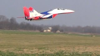 Mig 29 3D TRUE VECTORING first test flight Maiden Review SebArt EDF Jet 2x70mm ARF