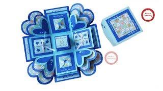 Explosion box / Valentine's Day Explosion Box Idea/ Exploding Box Gift New Ideas and Combination