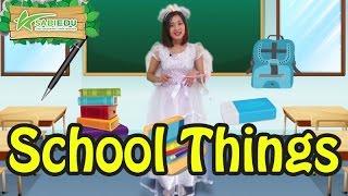 Bé học Tiếng Anh về TRƯỜNG HỌC qua thẻ tiếng anh MA THUẬT - Magic English Flashcard School Things