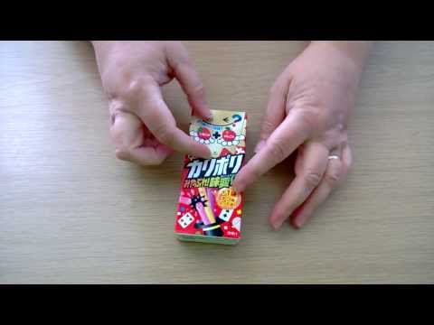 Napajapan - Kari Poli Candy Sticks - Strawberry & Apple video