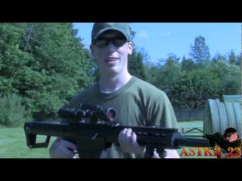 Snow Wolf M99 ( Barrett M82A1) Shooting Test - 600fps. Tested w/0.40g BBs  -ASTKilo23-