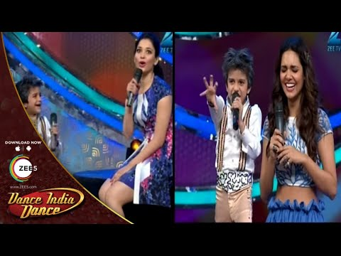 Sachin Shayaris Amuses Tamannaah Bhatia and Esha Gupta - DID L'il Masters Season 3 thumbnail