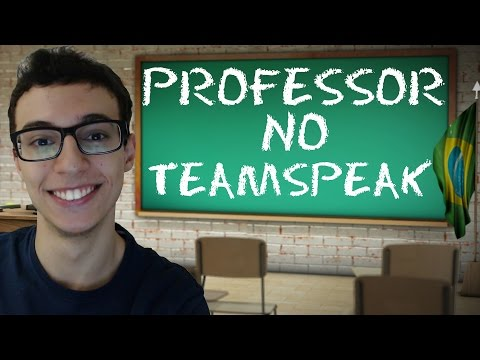 PEGADINHA PROFESSOR NO TEAMSPEAK 3 (PT-BR)