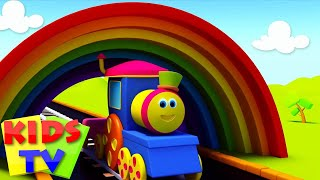 Bob On A Color Ride   Bob colors train   Learn Colors with Bob   Colors song   colors kids TV