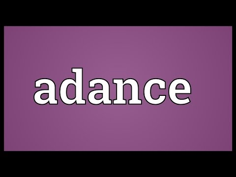 Header of adance