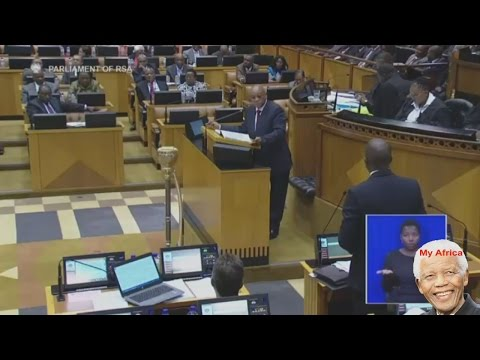 Jacob Zuma EVENTUALLY Answer NKANDLA Questions In Parliament.