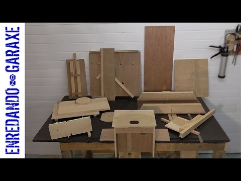 My 10 almost essential woodworking jigs