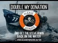 Double Your Donation to get the M/Y Steve Irwin back out on the water!