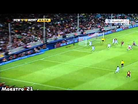 Highlights Barcelona 1-1 AC Milan - 25-08-2010
