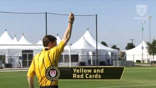 Referee ~ Signals