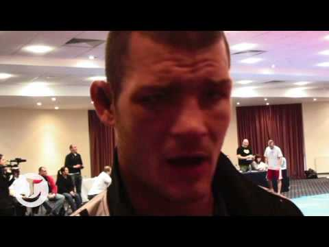 Michael Bisping after Leben fight Video
