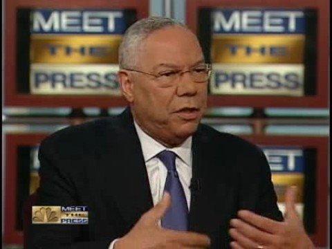 Colin Powell Endorses Barack Obama on Meet the Press