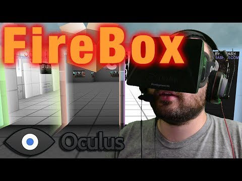 Oculus Rift - FireBox virtual reality web browser