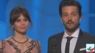 Así fueron los Golden Globes 2017 Video Lista de Ganadores Alfombra Roja