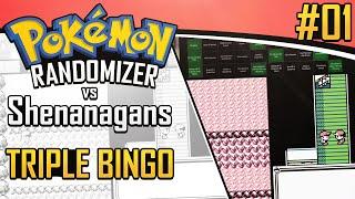 Pokemon Randomizer Triple Bingo vs Shenanagans #1