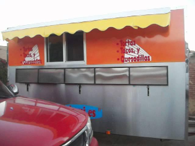 loncheras y carretas para venta de tacos de pescado 01 800 CARRETA