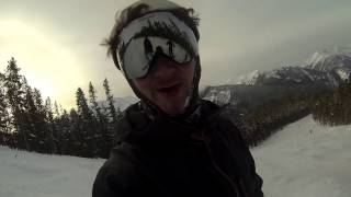 Ty goes skiing
