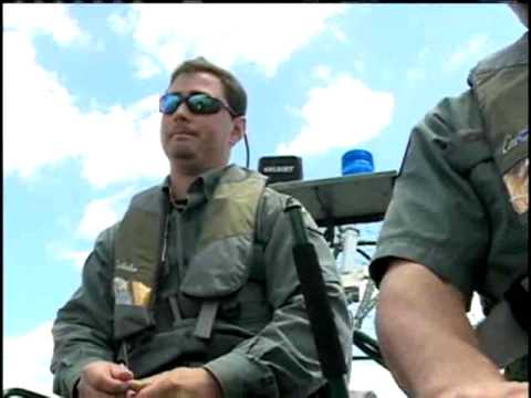 wildlife airboat patrols flooded areas