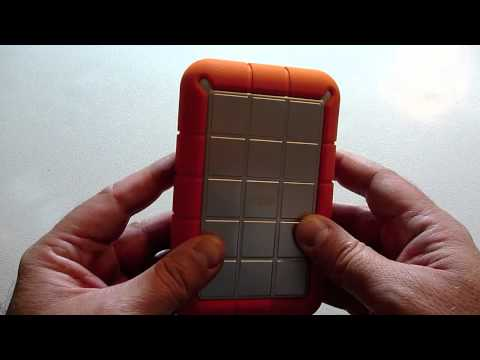 LaCie 1TB (Terabyte) USB Rugged Orange Hard Disk Review