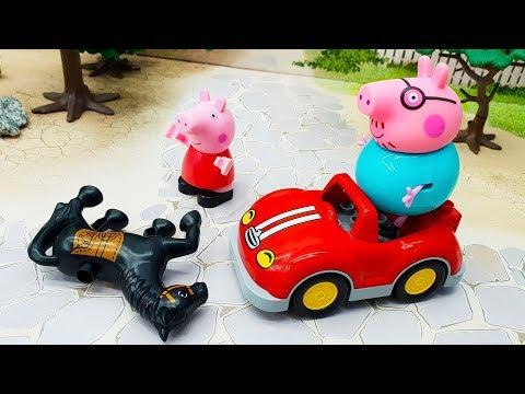 Мультики с игрушками Свинка Пеппа - Лошадка. Игрушечные видео 2019 на русском