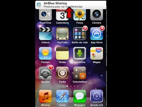 [Tutorial]Como enviar y recibir archivos por bluetooth desde mi iPhone a otros equipos.
