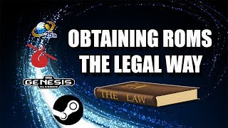 Obtaining Roms The Legal Way