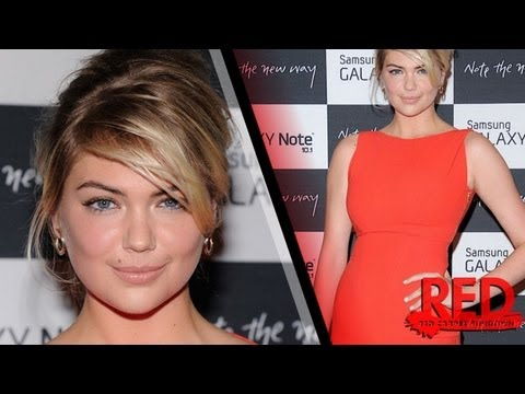 Kate Upton Sexy In Lady Chic Red Dress: The Fashion Details On The Model! video