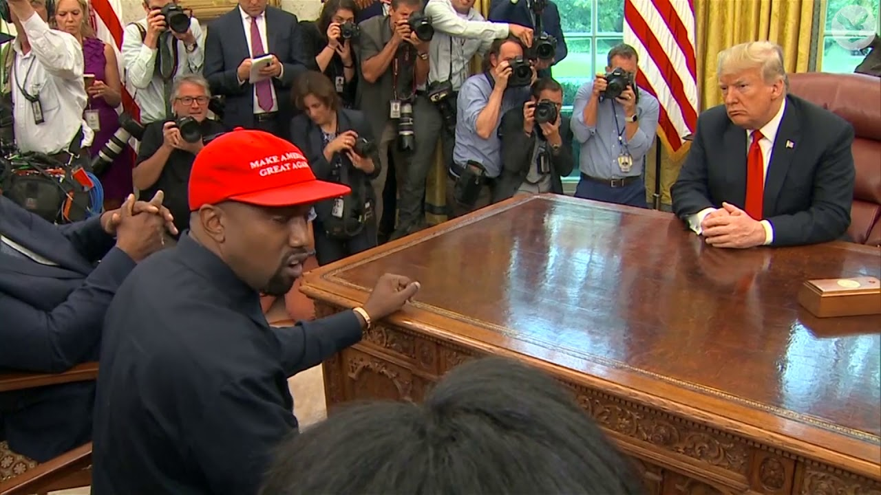 The most bizarre moments from Kanye West's meeting with Donald Trump at the White House